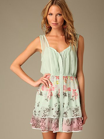 Free People Clothing Boutique > Sunset Desert Dress :  silk sunset desert people