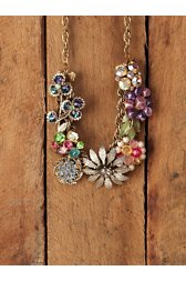 One Of A Kind Vintage Cluster Necklace