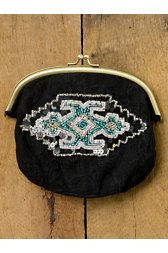 Lace Applique Coin Purse