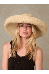 Giant Brim Straw Hat