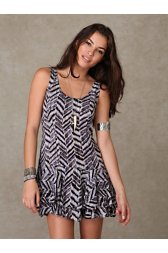 Geo Shapeless Dress