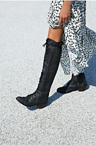Jeffrey Campbell Joe Lace Up Boot at Free People