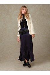 Fp-1 Godet Maxi Skirt