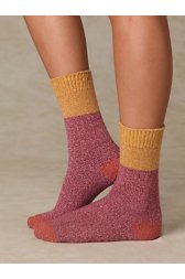 Color Block Boot Sock