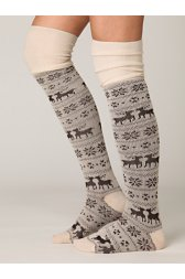 Hunting for Fairisle Tall Sock