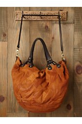 Pieced Leather Bag