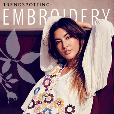Trendspotting: Embroidery