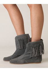 Rebecca Side Laceup Moc Boot