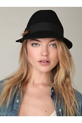 Hannah Feather Fedora