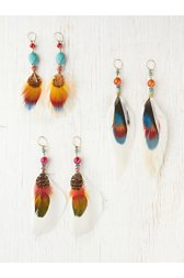 Serrano Feather Earring