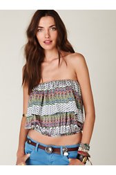 Pretty in Paisleys Tube Top