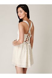Raw Cut Ruffle Tier Dress