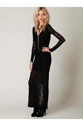 Victorian Lace Maxi Dress