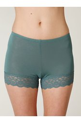 Lace Trim Bike Shorts