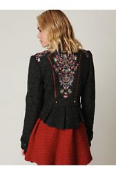 Picchi Embroidered Coat
