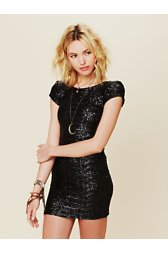 Sequin Fever Bodycon Dress