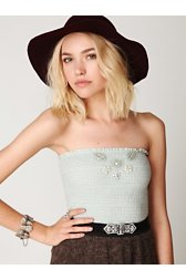 FP ONE Smocked Beaded Bandeau