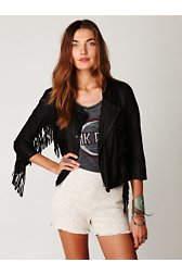 FP High Waisted Textured Shorts