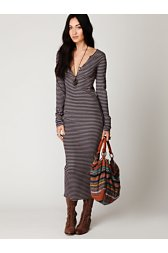 Costas Striped Maxi Dress