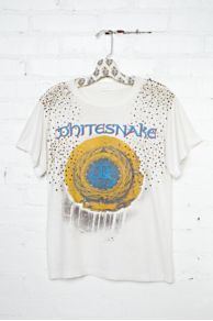 Vintage Studded Whitesnake Tee at Free People