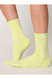 Neon Spacedye Boot Sock