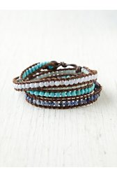 Pasel Semi Precious Wrap Bracelet