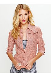 Western Printed Buttondown Shirt