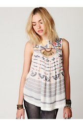 FP New Romantics Ikat Print Tunic