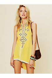 FP New Romantics Embroidered Tassel Tunic