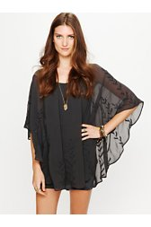 Pointed Cape Dress