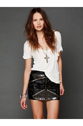 Rattlesnake Mini Skirt