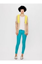 Color Ankle Crop Skinny