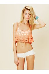 Carefree Crochet Crop Top