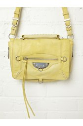 Hugo Studded Satchel