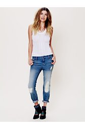 Slim Slouch Ankle Crop Jean