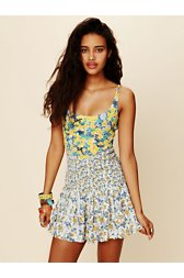 English Garden Mini Dress