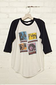 Vintage Assorted Band Graphic Tee at Free People