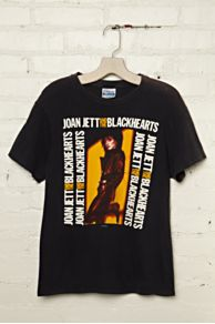 Vintage Joan Jett and the Blackhearts Rock Tee at Free People