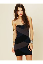 Color Block Bandage Dress