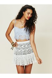 Crochet Sweater Skirt