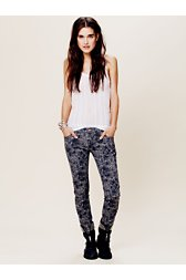 Janina Animal Print Skinny