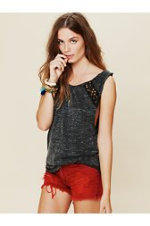 Studded Back Lou Top