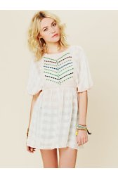 FP New Romantics Embroidered Tunic