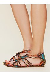 Newport Patterned Sandal