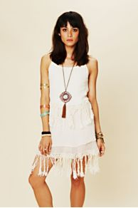Jen's Pirate Booty Fringe Dream Mini Dress at Free People