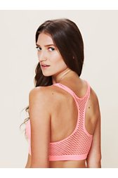 Fishnet Racer Back Bra