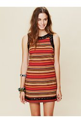 FP New Romantics Tapestry Shift Dress