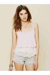 Tiered Lace Racer Cami