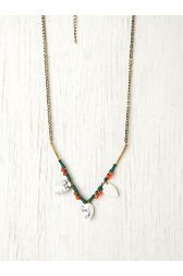 Wishbone Bead Necklace