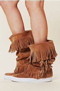 Jeffrey Campbell Sedona Sneaker Mocc Boot at Free People